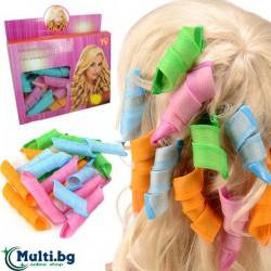 Магически гъвкави ролки за коса Magic Leverag