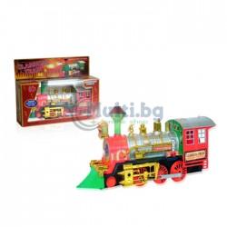 Детски локомотив със звук и светлина