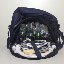 Комплект за Пикник в Удобна Чанта с Хладилно Отделение