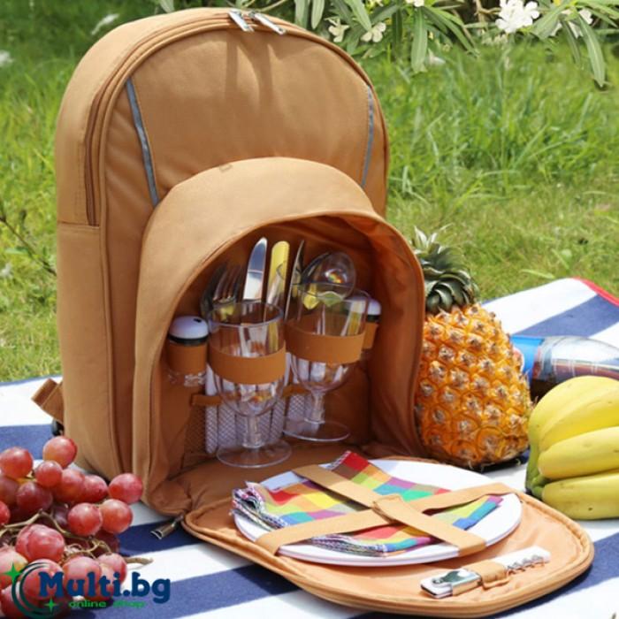 Раница за пикник за двама