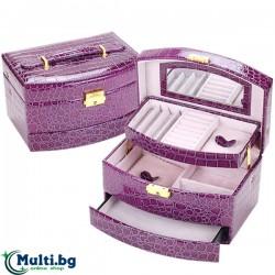 Куфарче за бижута на три нива