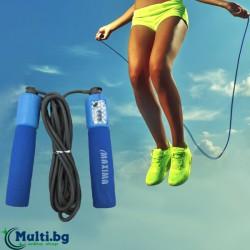 Въже за скачане MAXIMA с брояч