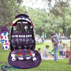 Раница за пикник за четирима