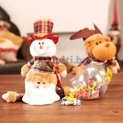 Коледен буркан за сладки
