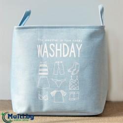 Сгъваем кош за пране Washday