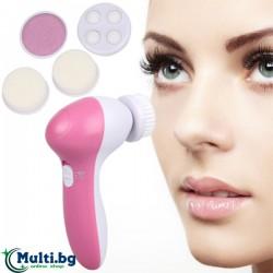 5 в 1 Уред за почистване и масаж на лице