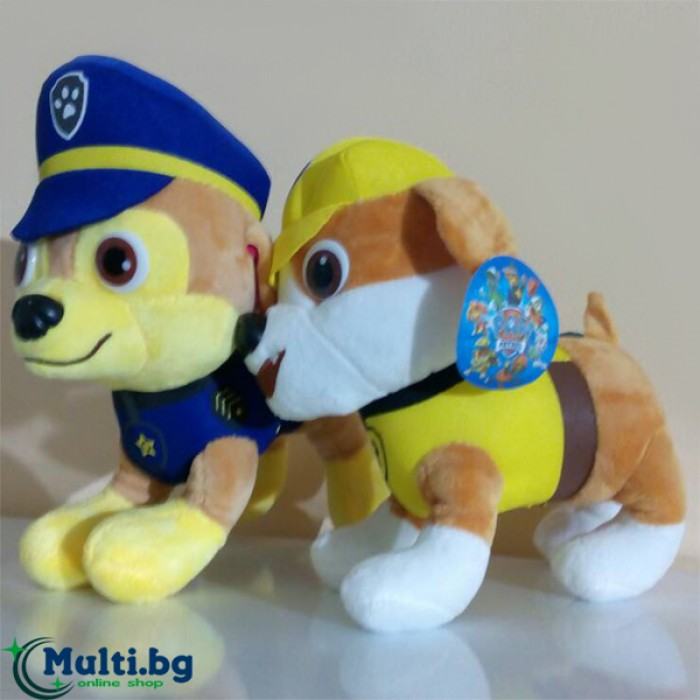 Плюшена играчка Пес Патрул 24 см