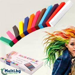 Тебешири за коса 12 цвята