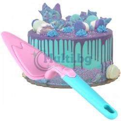 Лопатка за торта с подвижно рамо
