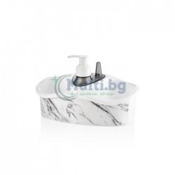Органайзер за мивка с диспенсър