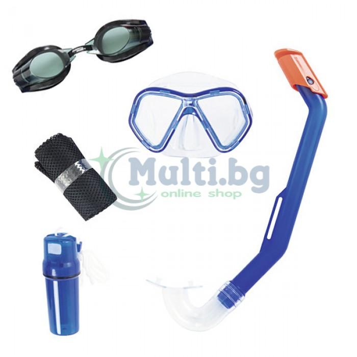 Детски комплект очила, маска и шнорхел Bestway