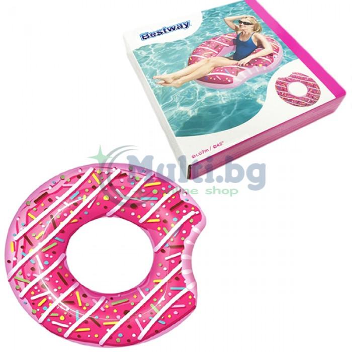 Надуваем пояс за плуване Поничка Bestway