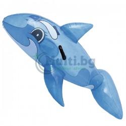Надуваем кит Bestway