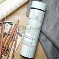 Дизайнерски термос с цедка за чай