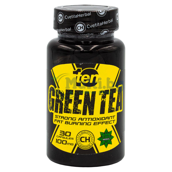 Green Tea 30 Capsules 100mg