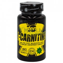 L-Carnitine 30 Capsules x 500mg