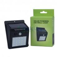 Сензорна LED лампа за стена със соларен панел