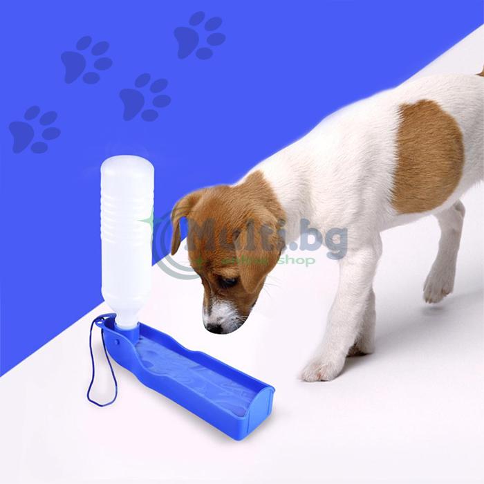 Преносима поилка за кучета