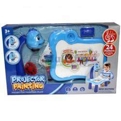Детска дъска с проектор за рисуване