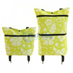Пазарска чанта сгъваема с колела