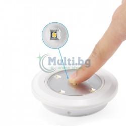 Комплект 3 бр. LED луни с дистанционно управление