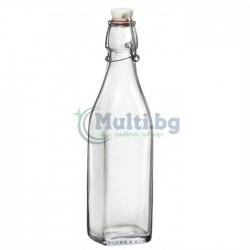 Стъклена бутилка Swing
