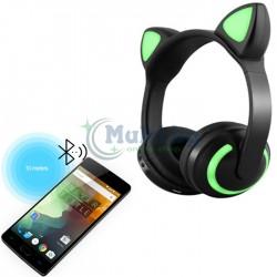 Безжични светещи слушалки CAT EAR