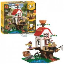Конструктор Create 3 в 1 Приключенията на дървената къща