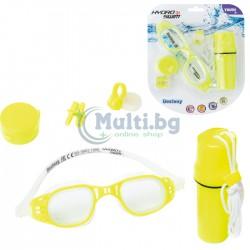 Детски очила за плуване, тапи и щипка за нос Bestway