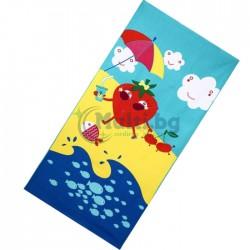 Плажна кърпа Ягодка