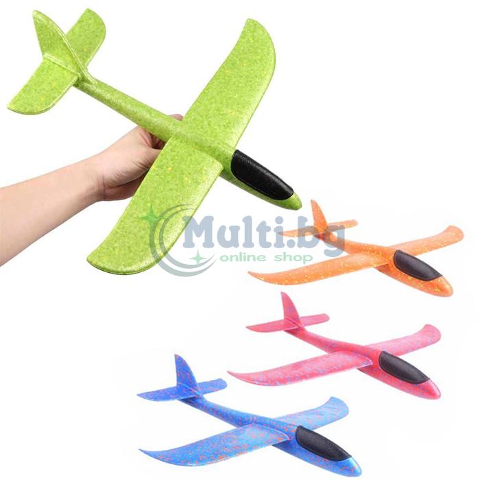 Самолет от стиропор детски
