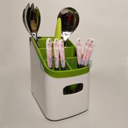 Поставка за прибори с точило за ножове