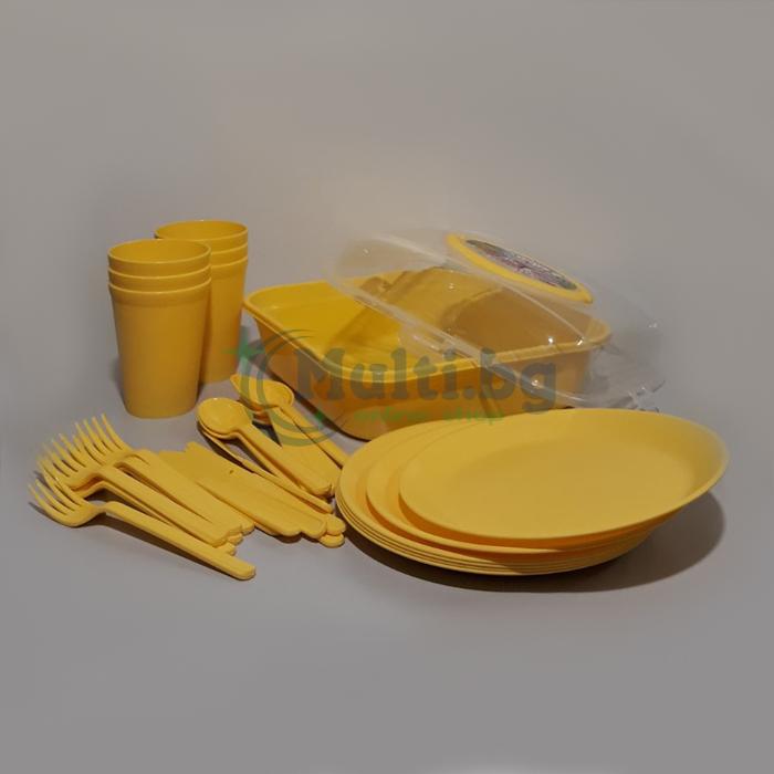 Комплект за пикник 32 части
