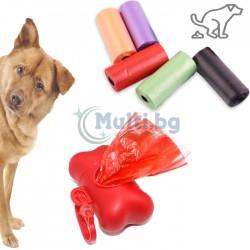 Диспенсър Кокал с хигиенни торбички за куче