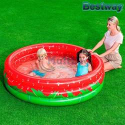Надуваем детски басейн Ягода Bestway