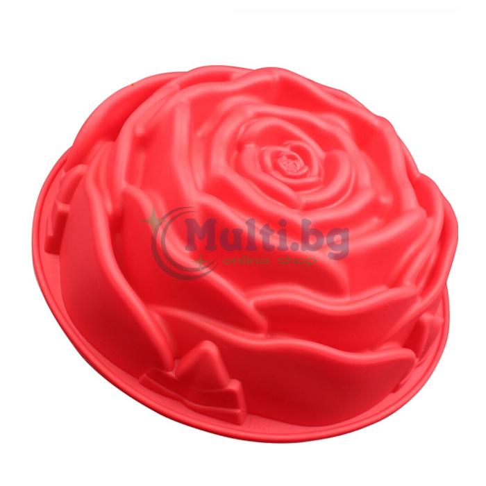 Силиконова форма за печене Роза