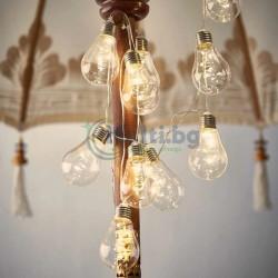 Комплект 10 бр. ретро LED лампи за декорация