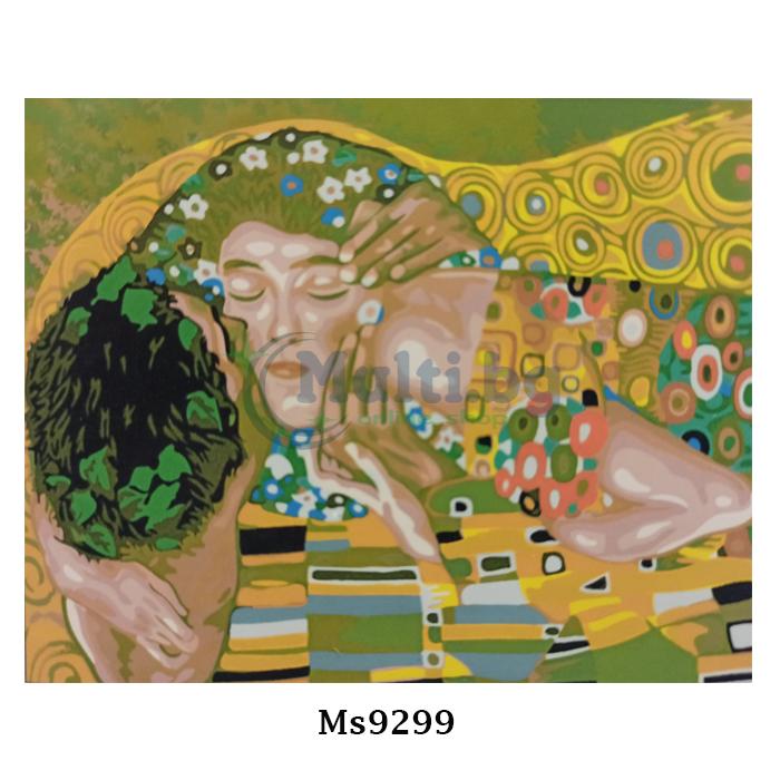 Картина рисуване по номера 30 х 40 см