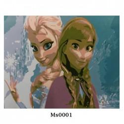 Картина рисуване по номера 20 х 30 см