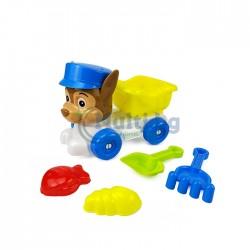 Детски комплект за игра с пясък Пес Патрул