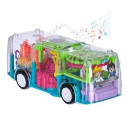 Светещ музикален автобус