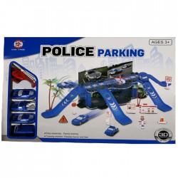 Детски паркинг с писта Полиция