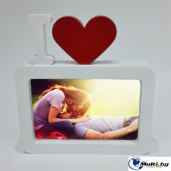 Рамка за Снимка I Love You
