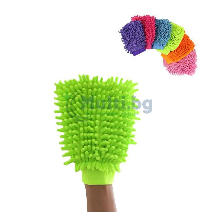 Микрофибърна ръкавица за почистване