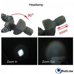 LED Фенер за Глава със зуум