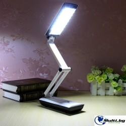 Настолна Сгъваема Презареждаща LED Лампа 5S