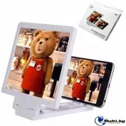 3D Увеличаващ Екран със Стойка за Телефон